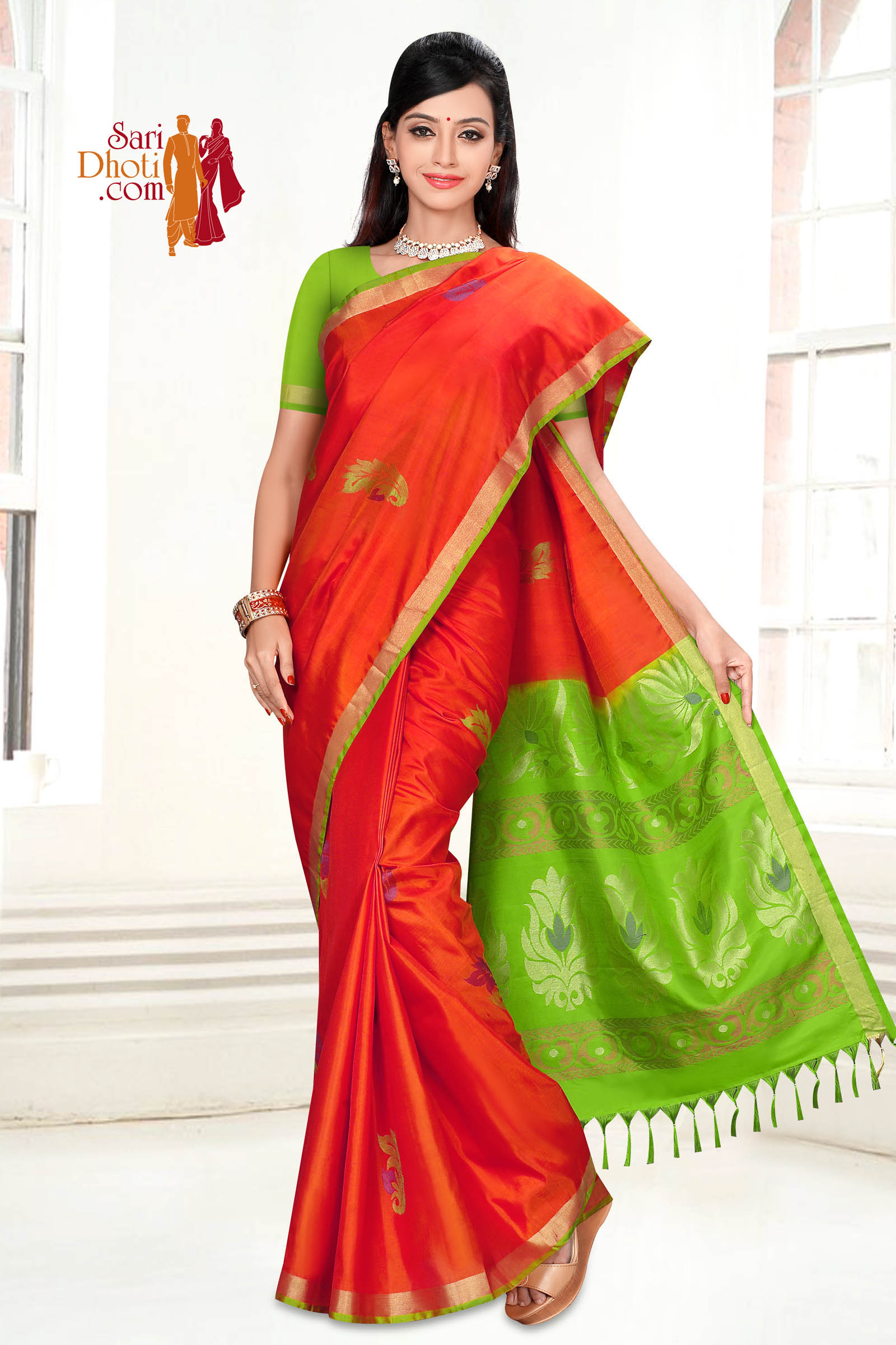 Soft Silk Saree 5842
