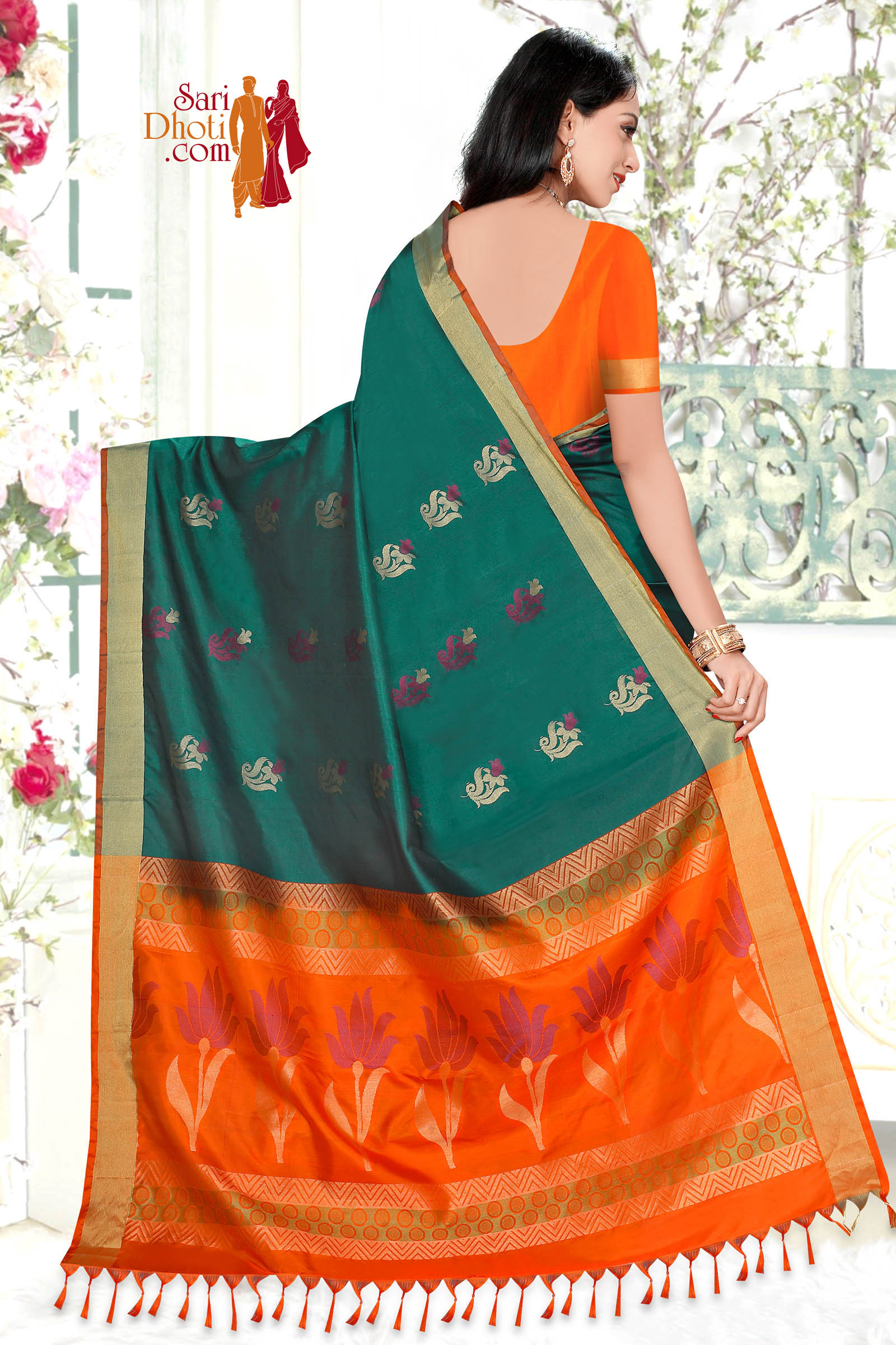 Soft Silk Saree 5846