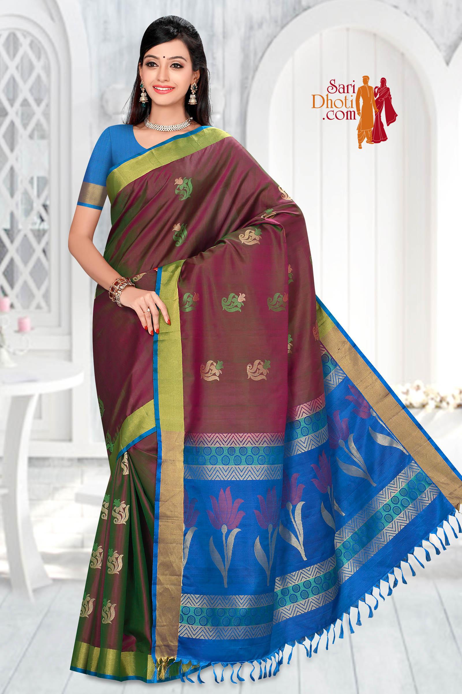 Soft Silk Saree 5847