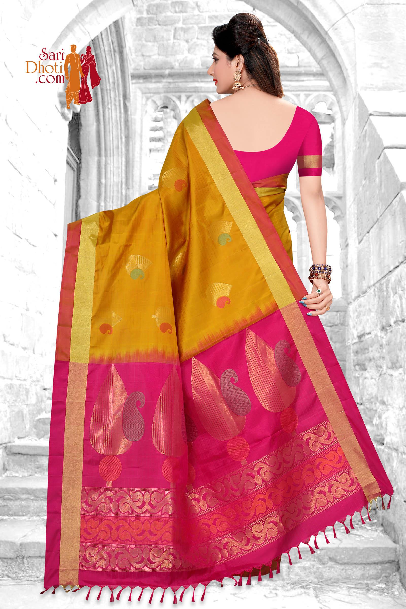 Soft Silk Saree 5854