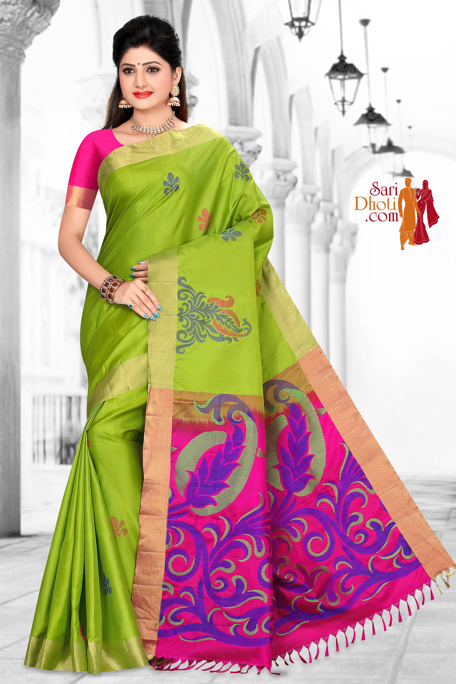 Soft Silk Saree 5856