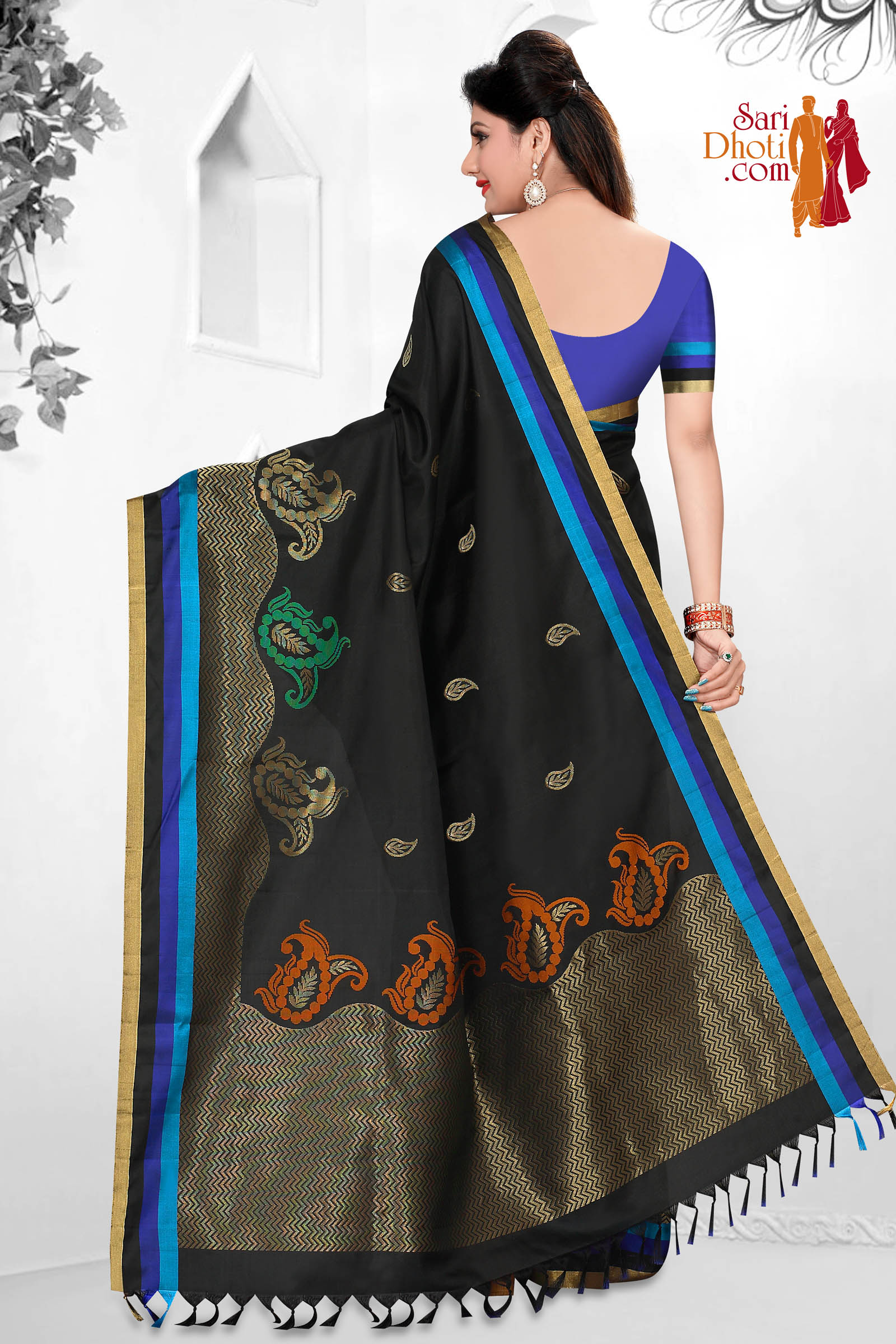 Soft Silk Saree 5868