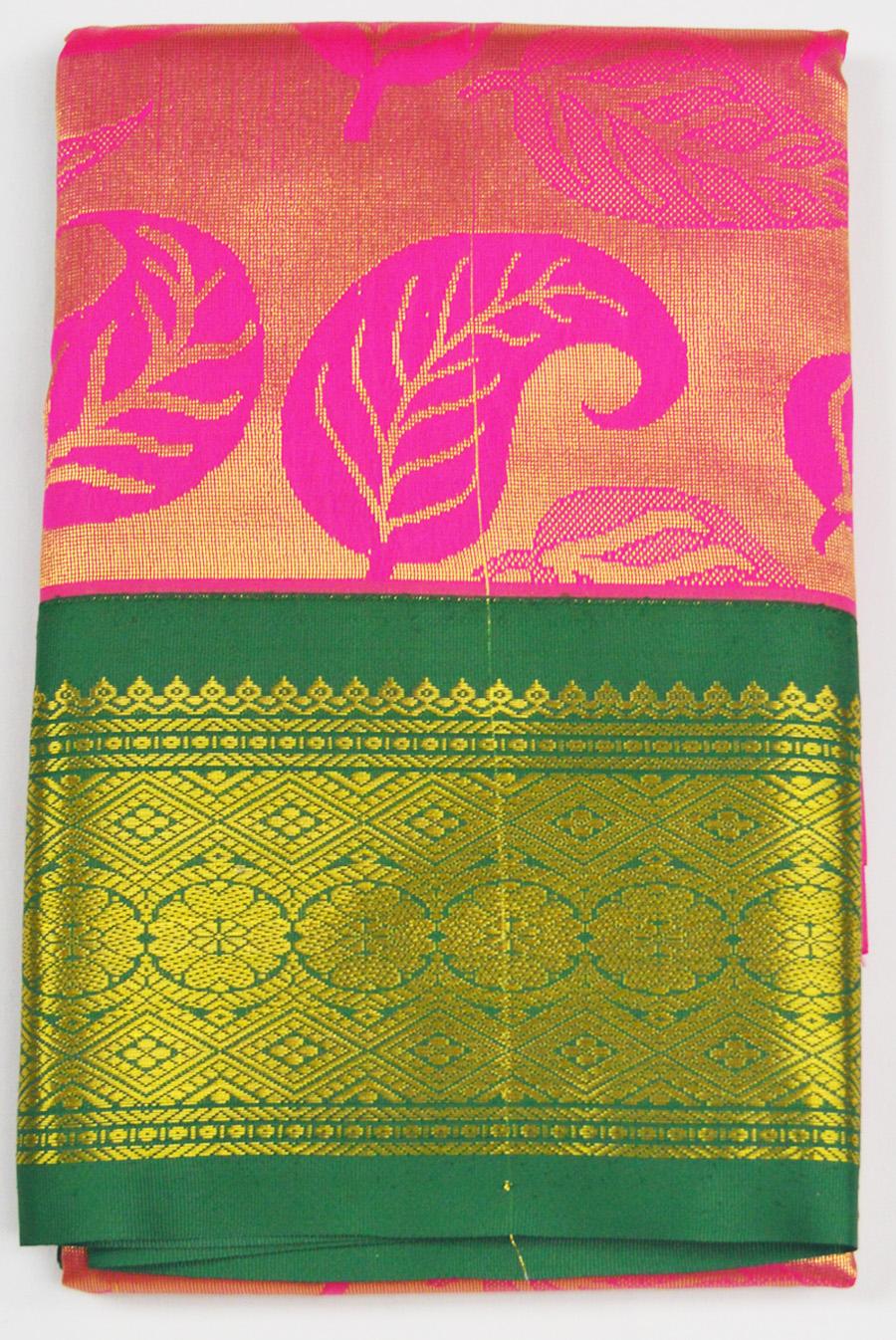 Temple Art Silk Saree 6076