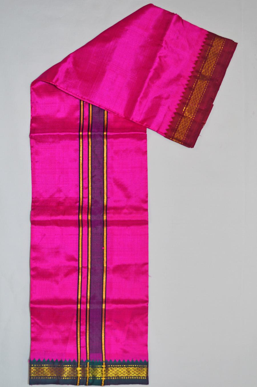 Silk Dhoti 6091