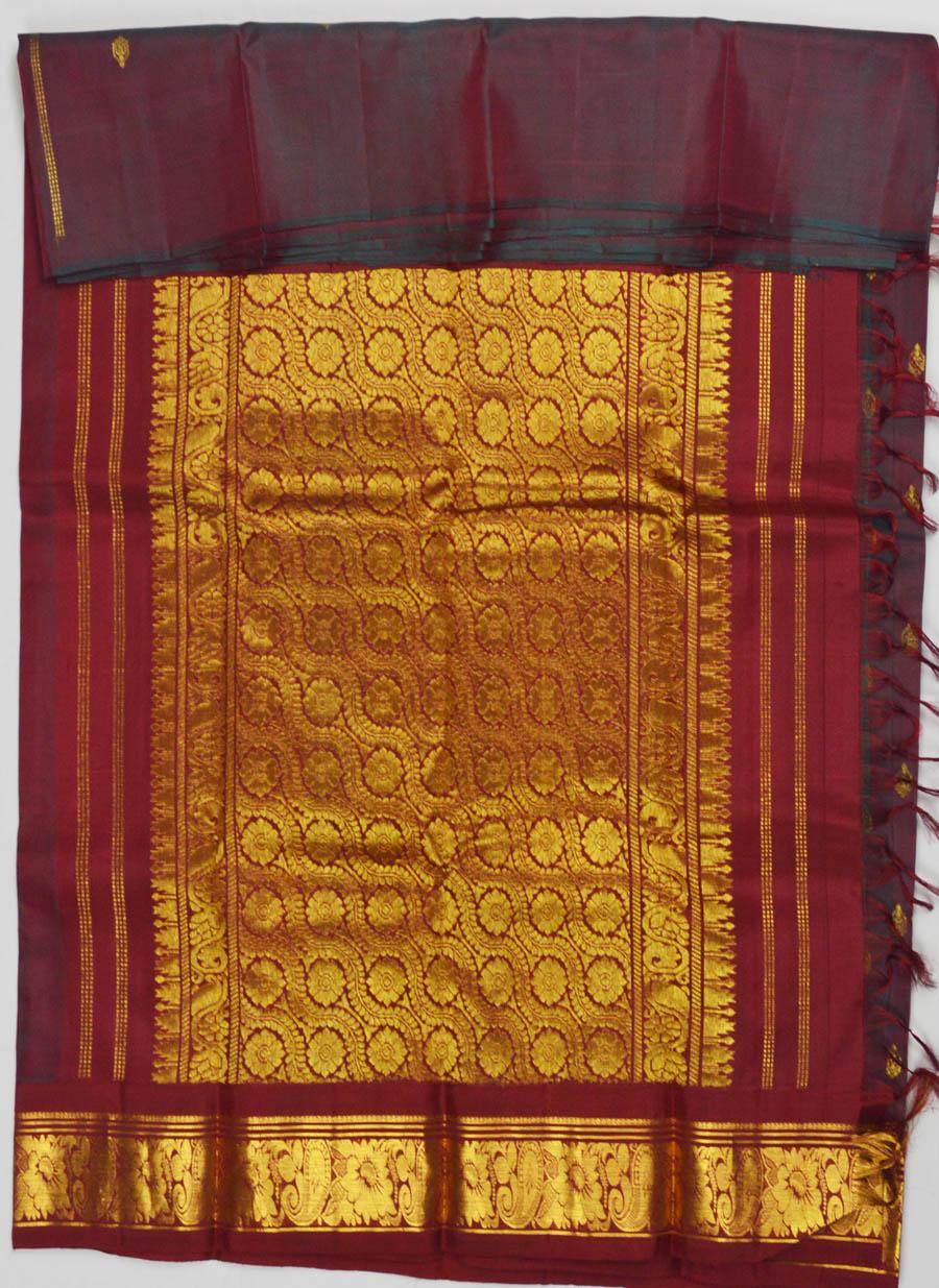 Temple Saree 6402